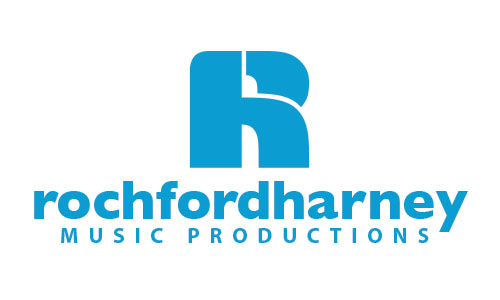 Rochford Harney Music Productions logo design
